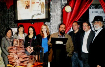 Israeli writer DOREL SCHOR launches book of humourous aphorisms at Espacio Niram, Madrid