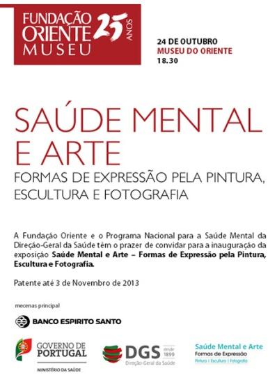 SALUD MENTAL Y EXPOSICIÓN DE ARTE - LISBOA
